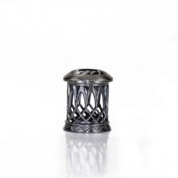 Dekorativ Krone - Oxideret Sølv
